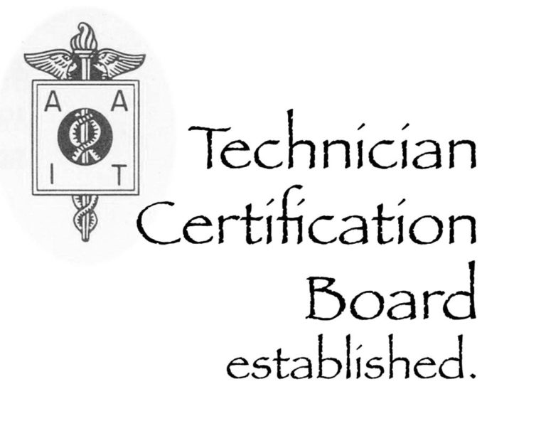 technician Certification Board established