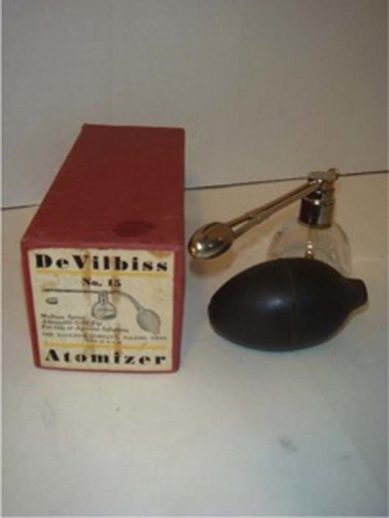 Circa 1900 Devilbiss Atomizer
