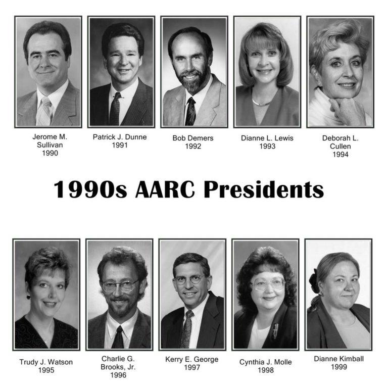 AARC Presidents 1990s