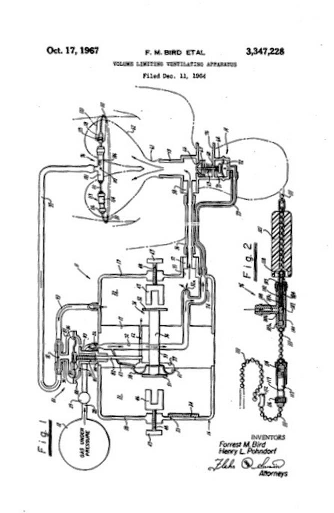 1967 Bird's Vent Patent