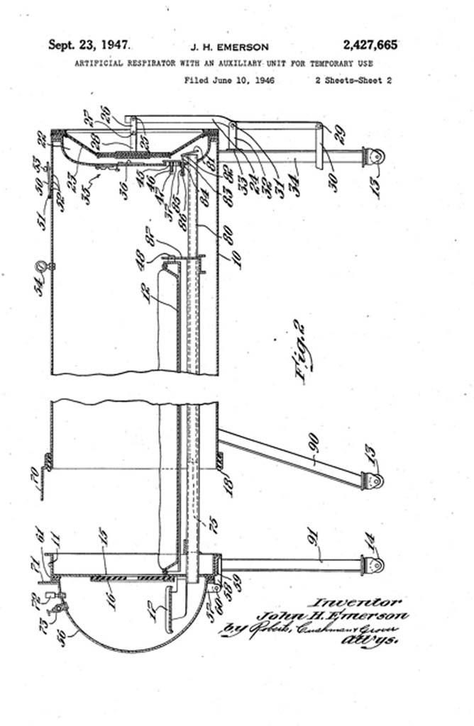 1947 J.H. Emerson's Dome Patent