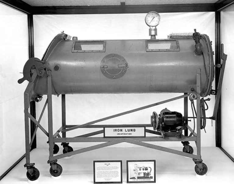 "1931 John Emerson improved the ""iron Lung"""