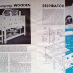 1952 DIY Emergency Wooden Respirator