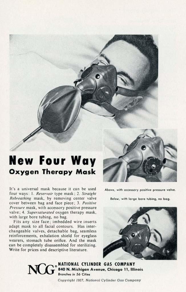 1957 NCG Mask