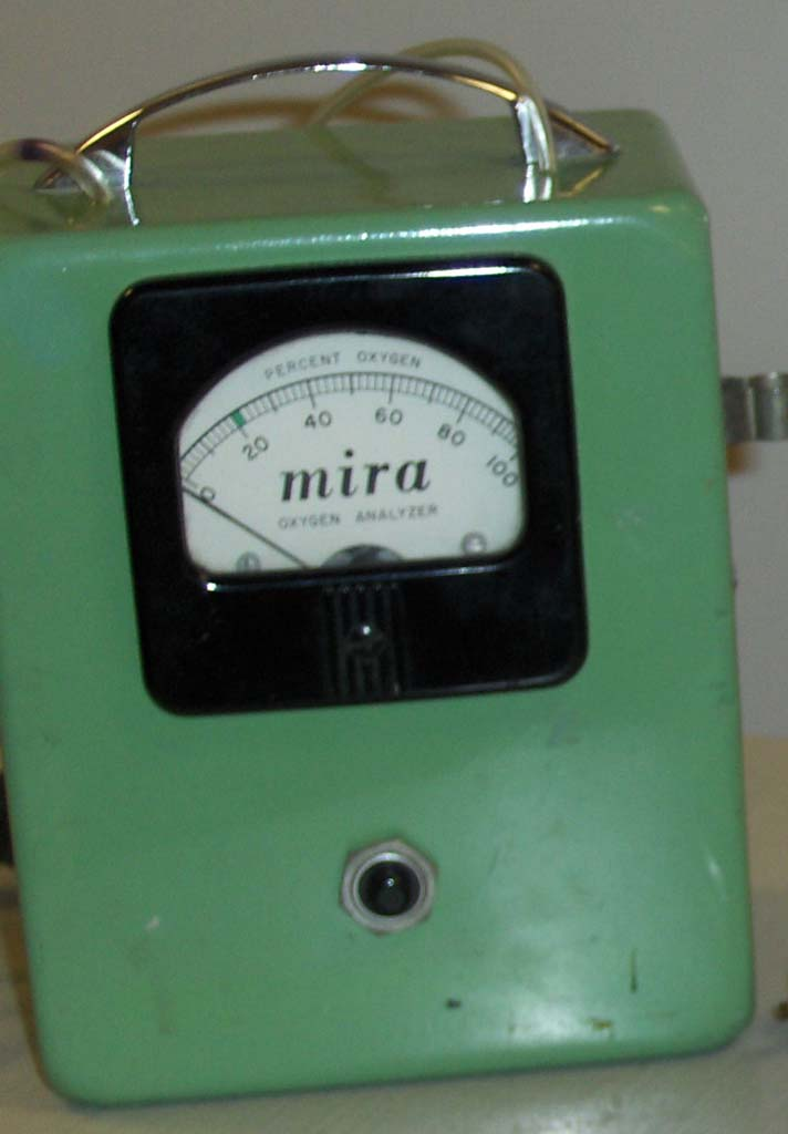 1960s Mira Oxygen Analyzer