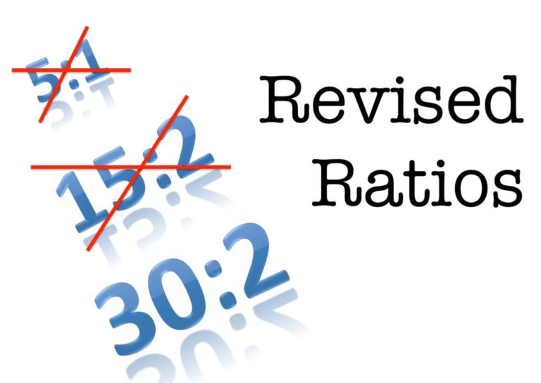 Revised Ratios