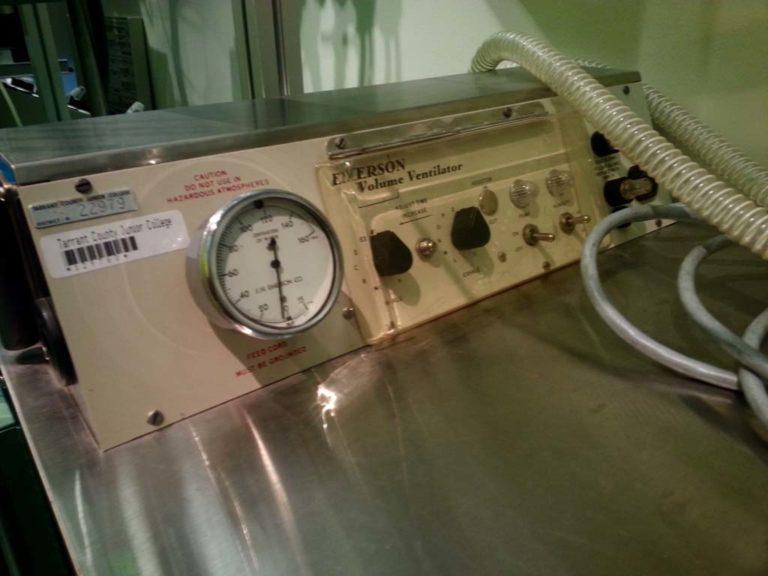 Emerson Control Panel
