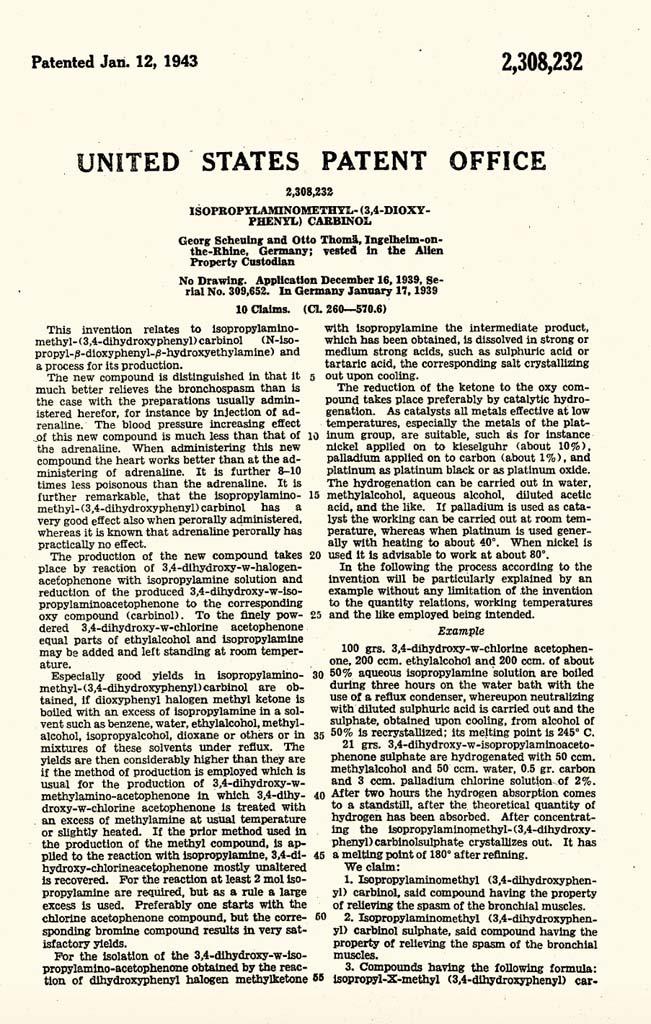 1943 Patent