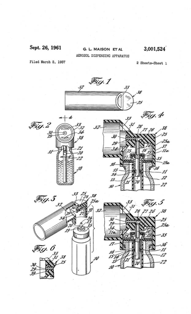 MDI Patent filed
