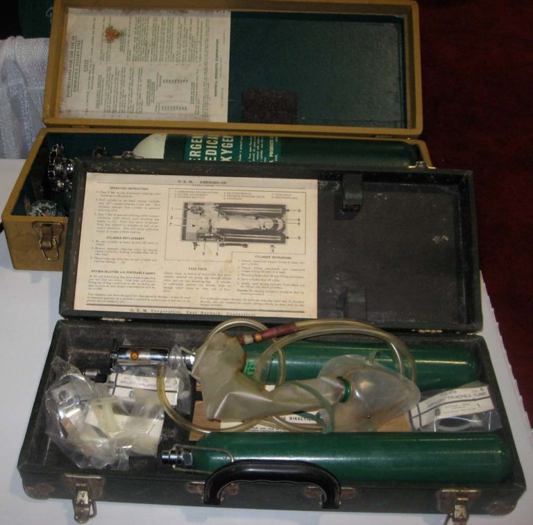 Portable Emergency Oxygen